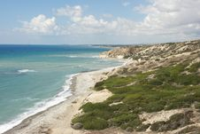 Free Southern Coast Of Cyprus, Europe Royalty Free Stock Images - 28256899