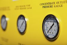 Free Pressure Gauges Stock Images - 28259864