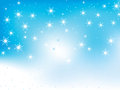 Free Winter Background With Snowflakes Stock Photo - 28262210
