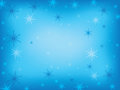 Free Winter Background With Snowflakes Stock Images - 28262234