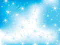 Free Winter Background With Snowflakes Stock Image - 28262251