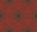 Free Arabic Seamless Vintage Dark Pattern, Vector Stock Photo - 28264280