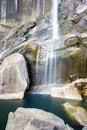 Free Waterfall In Yosemite National Park Stock Photos - 28268643