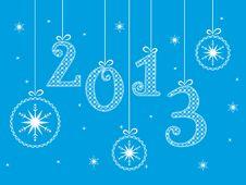 Free Blue Christmas Background Stock Images - 28262124