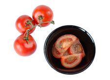 Free Salad With Tomatoes Stock Photo - 28263750