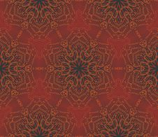 Free Arabic Seamless Vintage Dark Pattern, Vector Stock Photo - 28264280