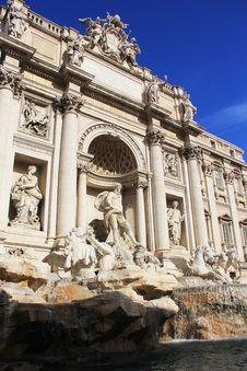 Fontana Di Trevi Royalty Free Stock Photo