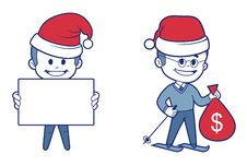 Free New Years Character Royalty Free Stock Images - 28265499