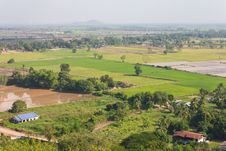 Free Above View Of Rural Thailand. Stock Photo - 28265660