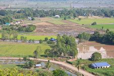 Free Above View Of Rural Thailand. Royalty Free Stock Images - 28265709