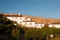 Free Old Beautiful Houses In Medieval City Of Obidos, Portugal Royalty Free Stock Photo - 28273425