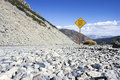 Free Rock Slide Area Sign Royalty Free Stock Photo - 28278075