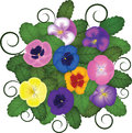 Free Pansies Bouquet Stock Photo - 28279670