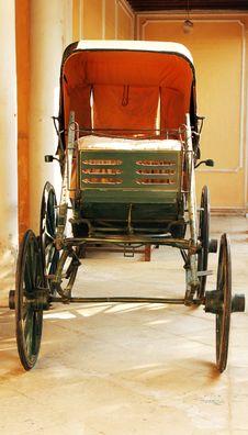 Royal Wooden Carriage Stock Photos