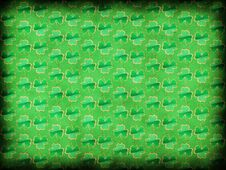 Green Shamrock Background Royalty Free Stock Images