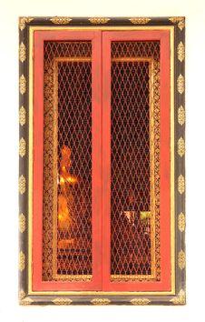 Free Thai Temple Window Stock Photos - 28277373