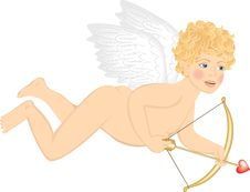 Free Cupid Royalty Free Stock Photography - 28279647
