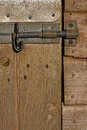 Free Wooden Stable Door Detail Royalty Free Stock Photography - 28287617
