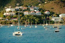 Yacht Club In Saint Thomas Royalty Free Stock Photos