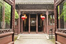 A Chinese Traditional Building Stock Images