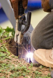 Free Welder Royalty Free Stock Photos - 28289488