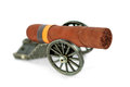 Free Artillery Gun Carriage And A Cigar Royalty Free Stock Photography - 28290937