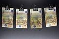 Free Hanging Euro Stock Photos - 28292453