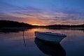 Free Loneyly Sunset Royalty Free Stock Photography - 28293327