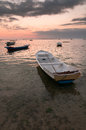 Free Sunset With Boats Royalty Free Stock Photos - 28295198