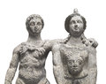 Free Ancient Statue Of A Couple . Royalty Free Stock Photos - 28299758