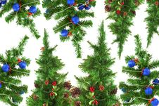 Free Christmas Trees Stock Images - 28290944