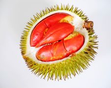 Free Red Durian Stock Photography - 28291692