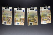 Free Hanging Euro Stock Photos - 28292453