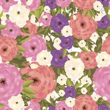 Free Flower Pattern Royalty Free Stock Image - 28293276