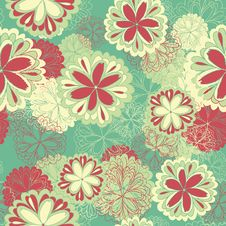 Free Flower Pattern Royalty Free Stock Image - 28293306