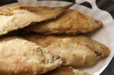 Free Breaded Plaice Fish Stock Image - 28298441