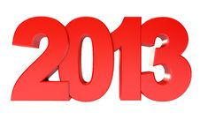 Free Happy New Year 2013 Royalty Free Stock Photos - 28299968