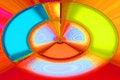 Free Vivid Colored Luminous Squares Stock Image - 2838081