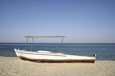 Boat, Red Sea, Sinai Royalty Free Stock Photo