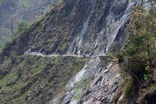 Free Himalaya Nepal Trekking Royalty Free Stock Photography - 2830847