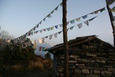 Free Himalaya Nepal Trekking Royalty Free Stock Photography - 2831007