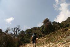 Free Himalaya Nepal Trekking Stock Photo - 2831040
