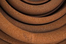 Free Rusty Curves Royalty Free Stock Image - 2832006