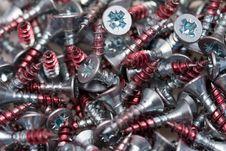 Free Close-up Of Screws Stock Photos - 2833333