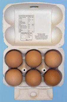 Free Fresh Eggs Royalty Free Stock Photography - 2833527