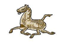 Free Running Horse Stock Photo - 2834660