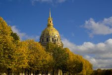 Free Dome Of Invalides Royalty Free Stock Photos - 2834868
