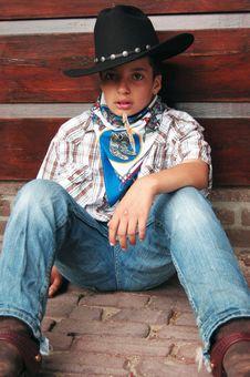 Free Cowboy Royalty Free Stock Image - 2835696
