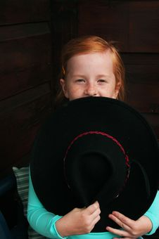 Free Cowgirl Royalty Free Stock Photos - 2835768