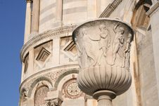 Free Tower Of Pisa Entrance Stock Photo - 2835950